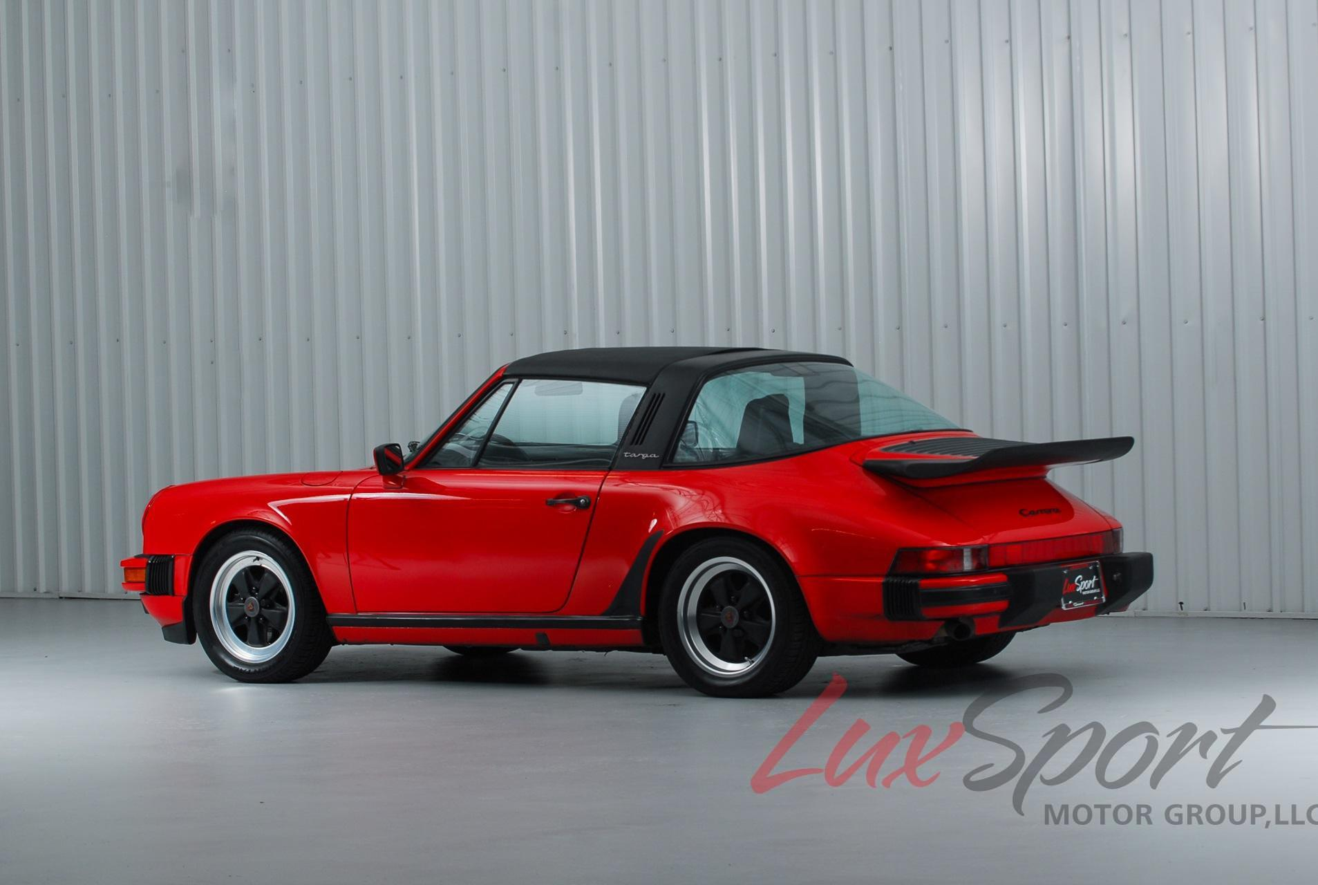 1988 Porsche 911 Carrera Targa Stock 1988110 For Sale