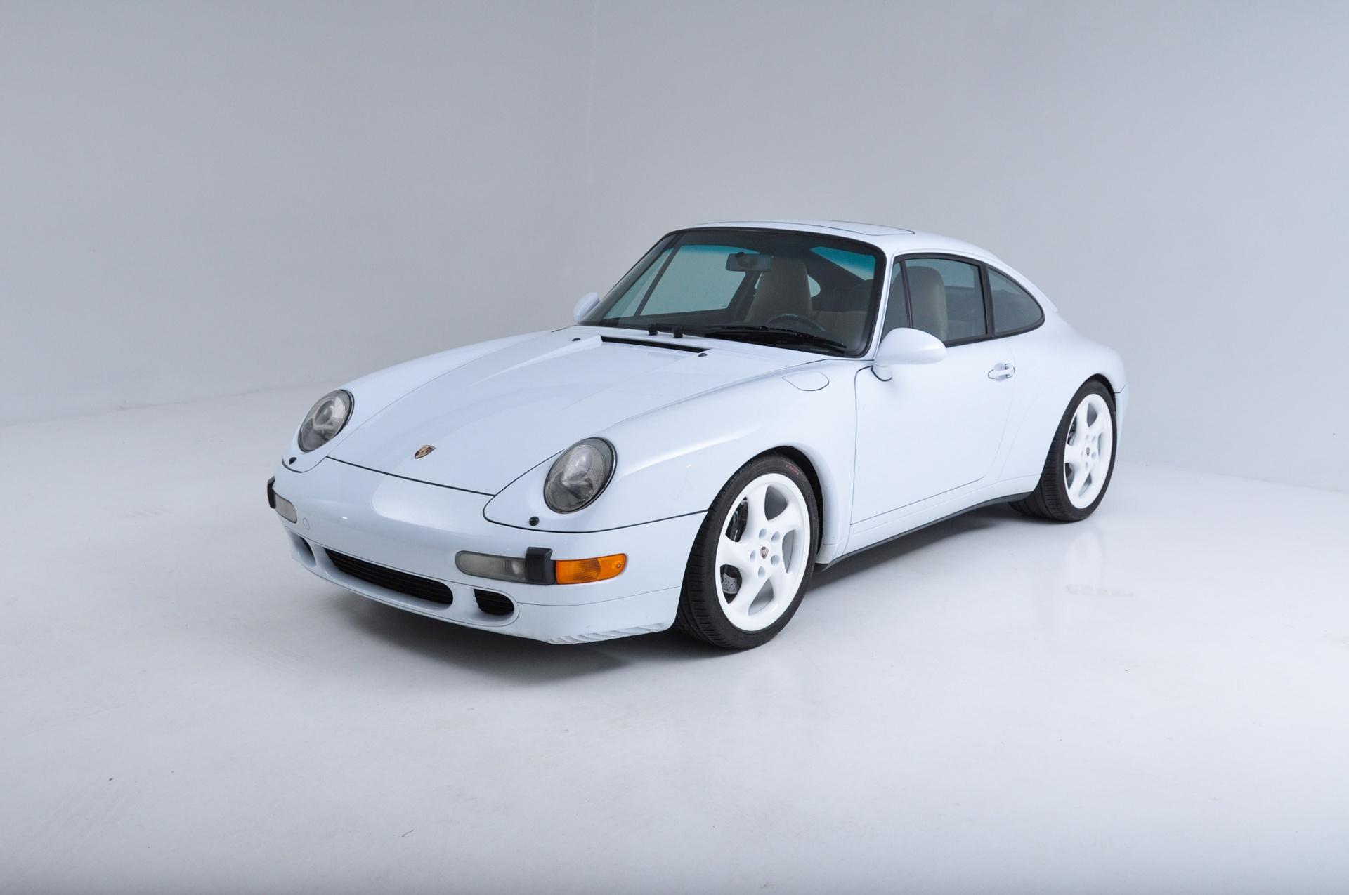 1997 Porsche 993 Carrera 2 Coupe Carrera 4S