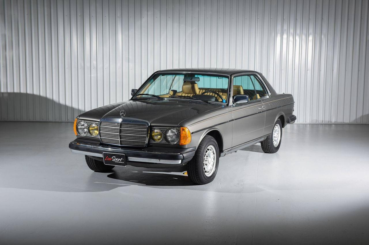 1985 mercedes benz 300cd coupe 300cd stock 1985101 for for Mercedes benz dealership for sale