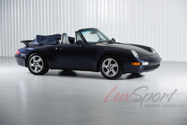 Used 1995 Porsche 993 Carrera 2 Cabriolet Carrera | New Hyde Park, NY