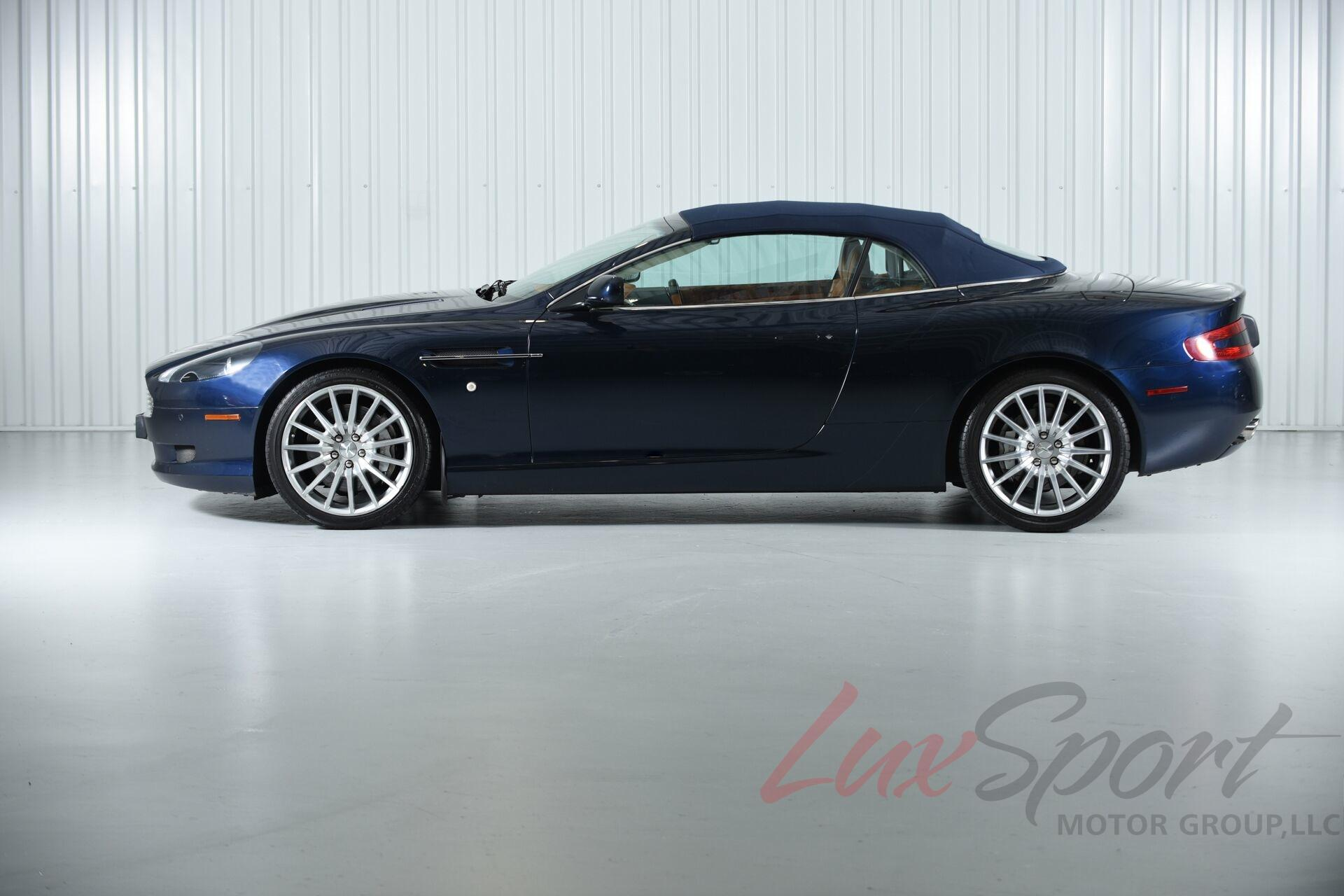 2007 aston martin db9 volante convertible volante stock. Black Bedroom Furniture Sets. Home Design Ideas