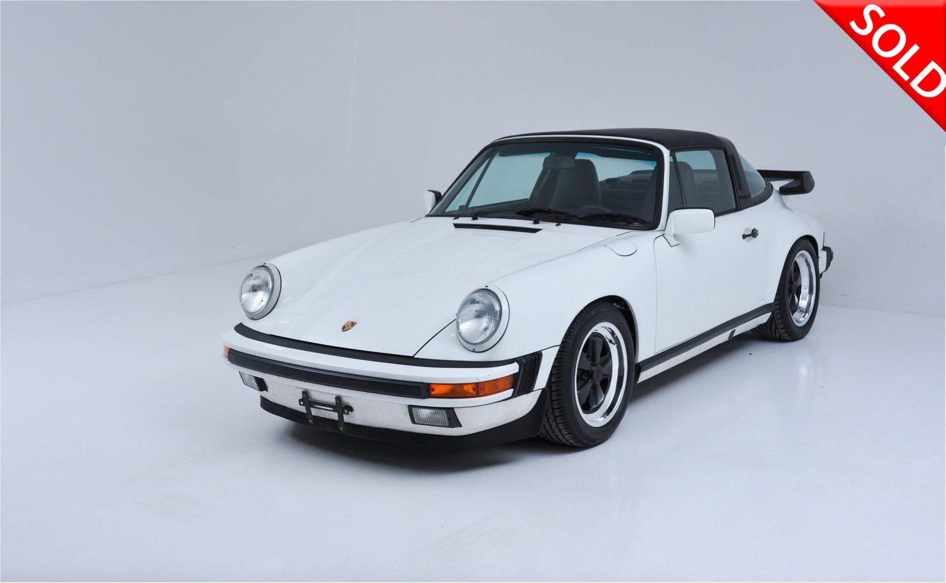 1989 Porsche 911 Carrera Targa Stock 198901 For Sale