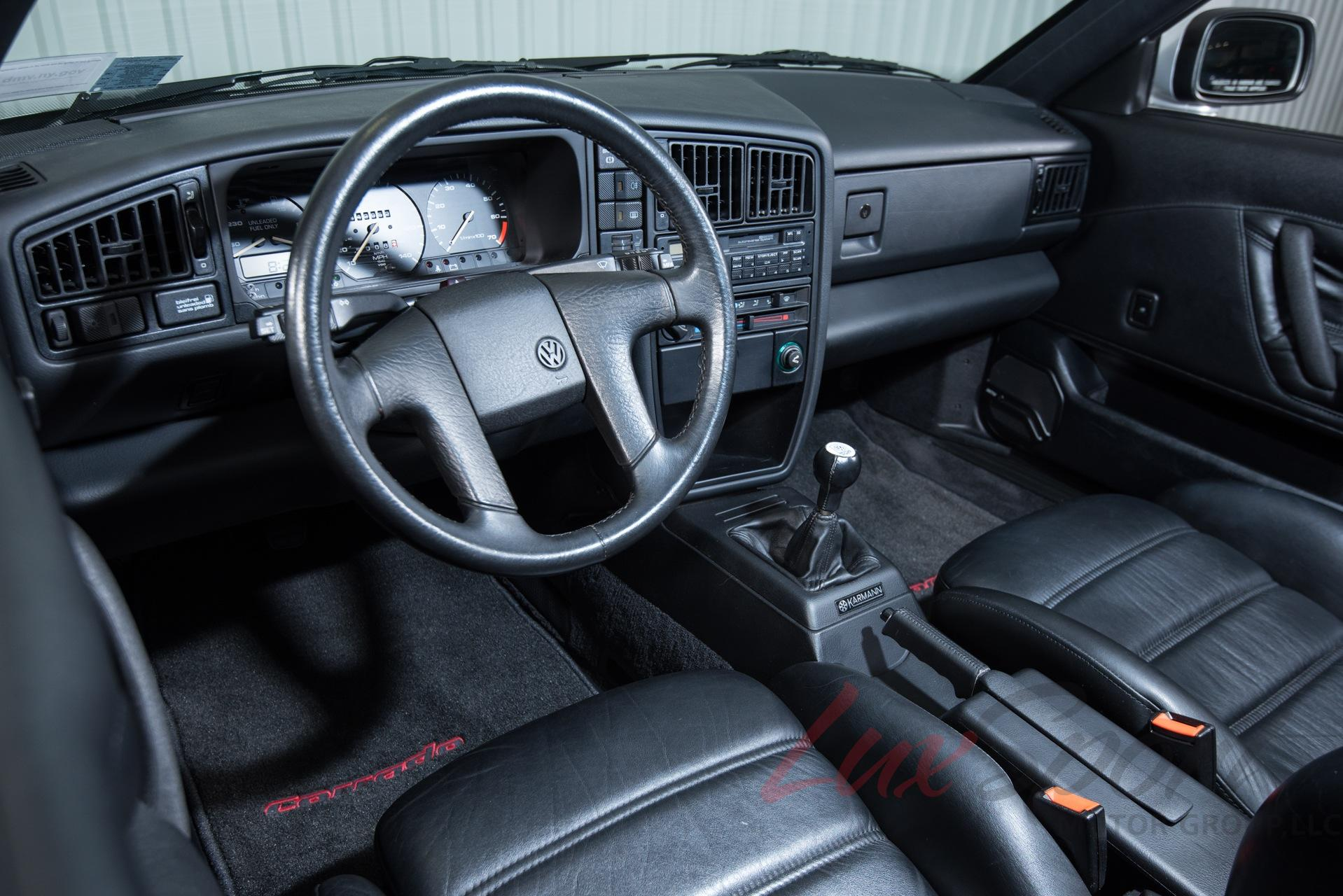 1990 Volkswagen Corrado G60 Coupe Stock # 1990160A for sale near New ...