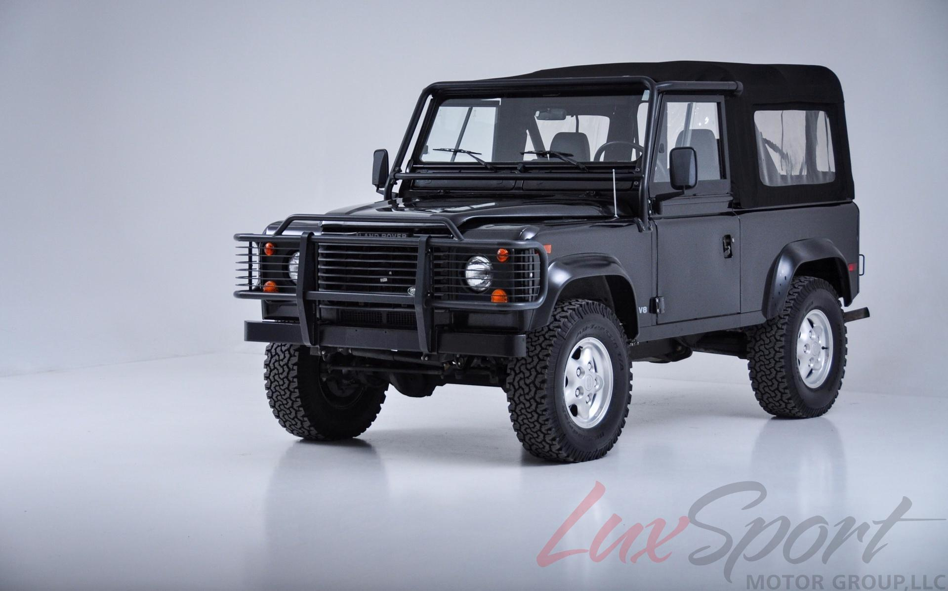 Used 1997 land rover defender 90 open top new hyde park ny