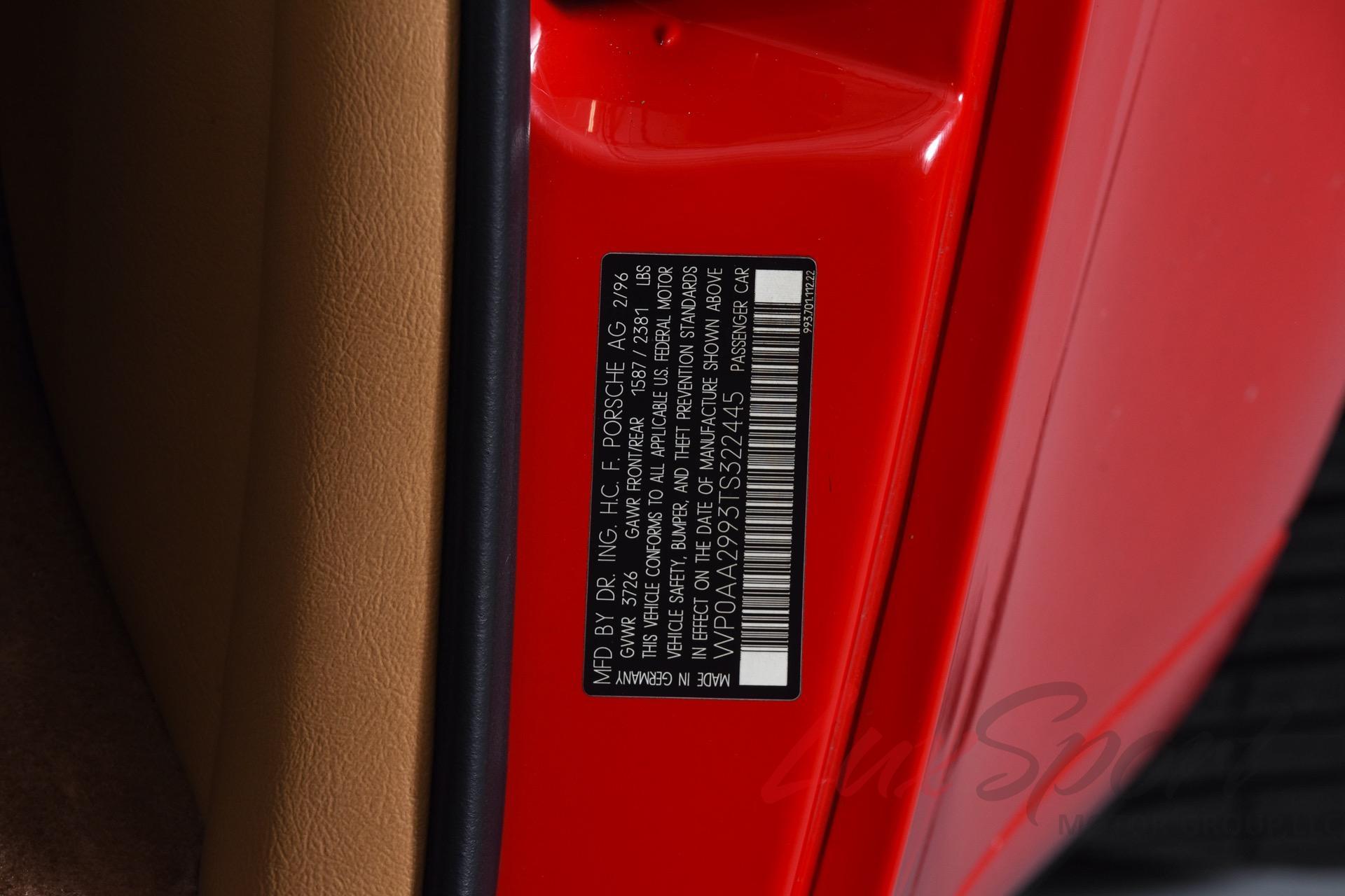 Used 1996 Porsche 993 Carrera 2 Coupe Carrera | New Hyde Park, NY