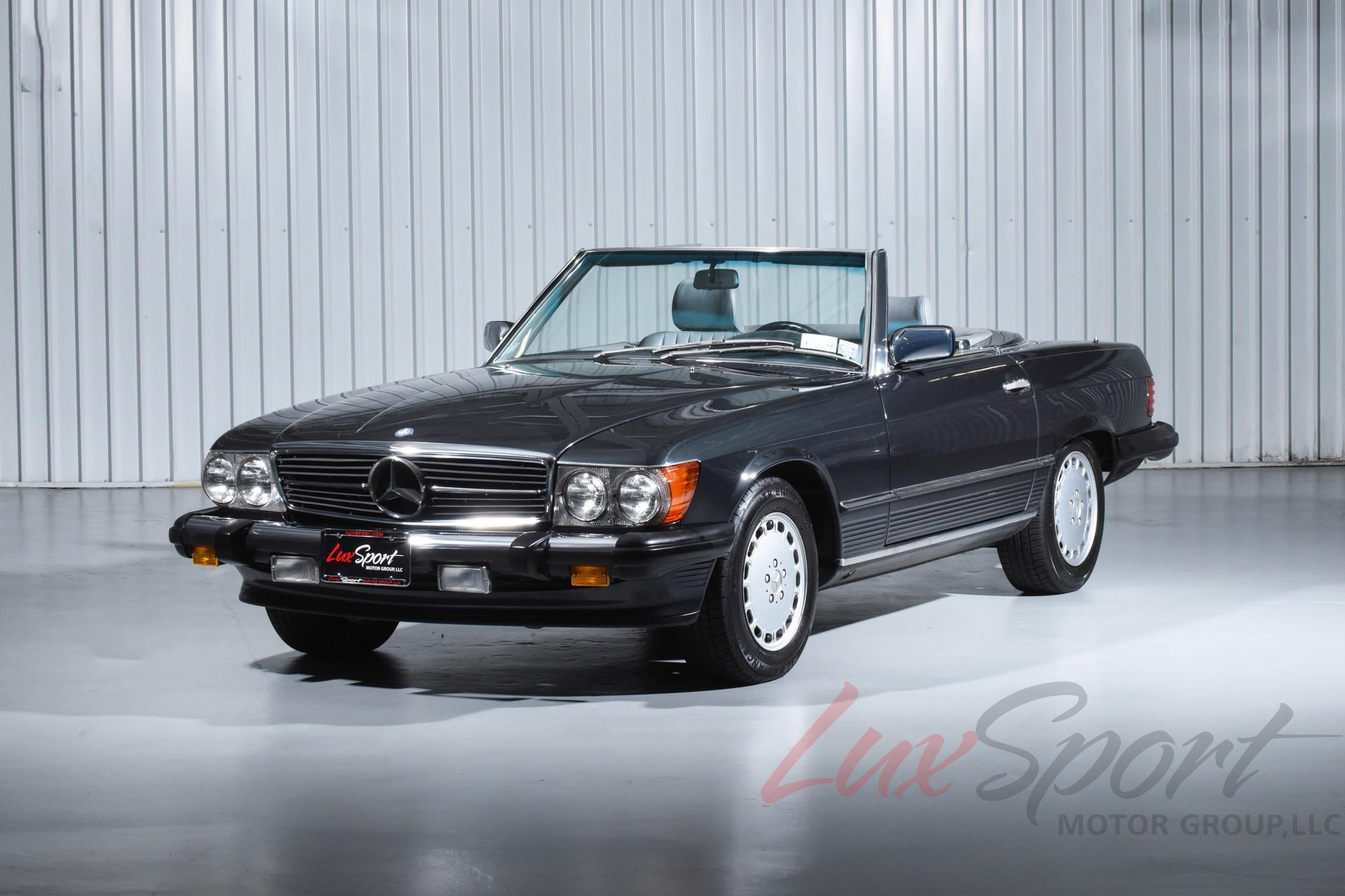 1989 mercedes benz 560sl roadster 560 sl stock 101 for for Mercedes benz sl 560