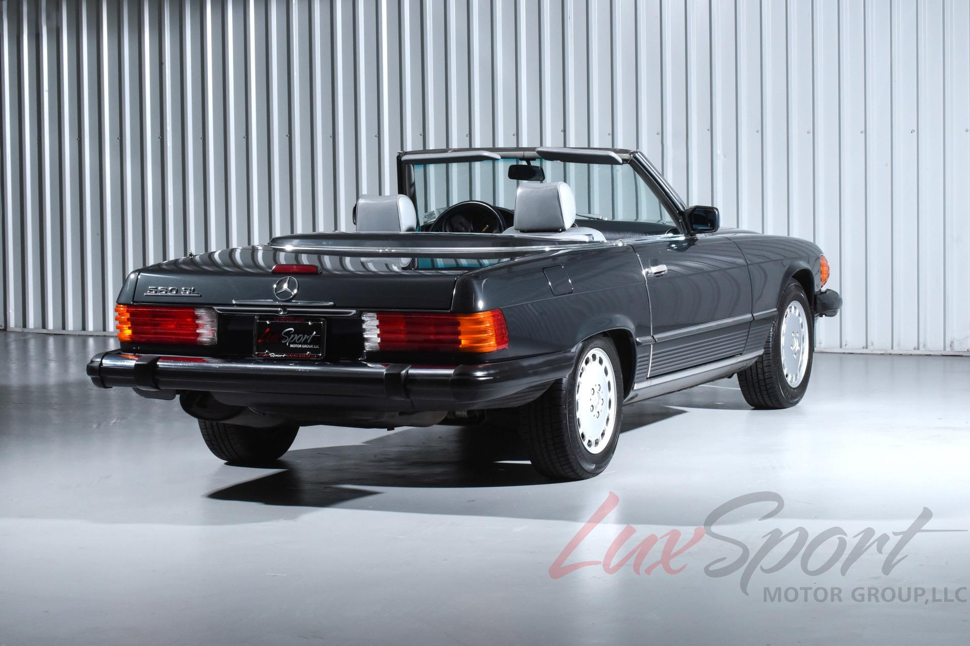 1989 mercedes benz 560sl roadster 560 sl stock 101 for for Mercedes benz 560 sl