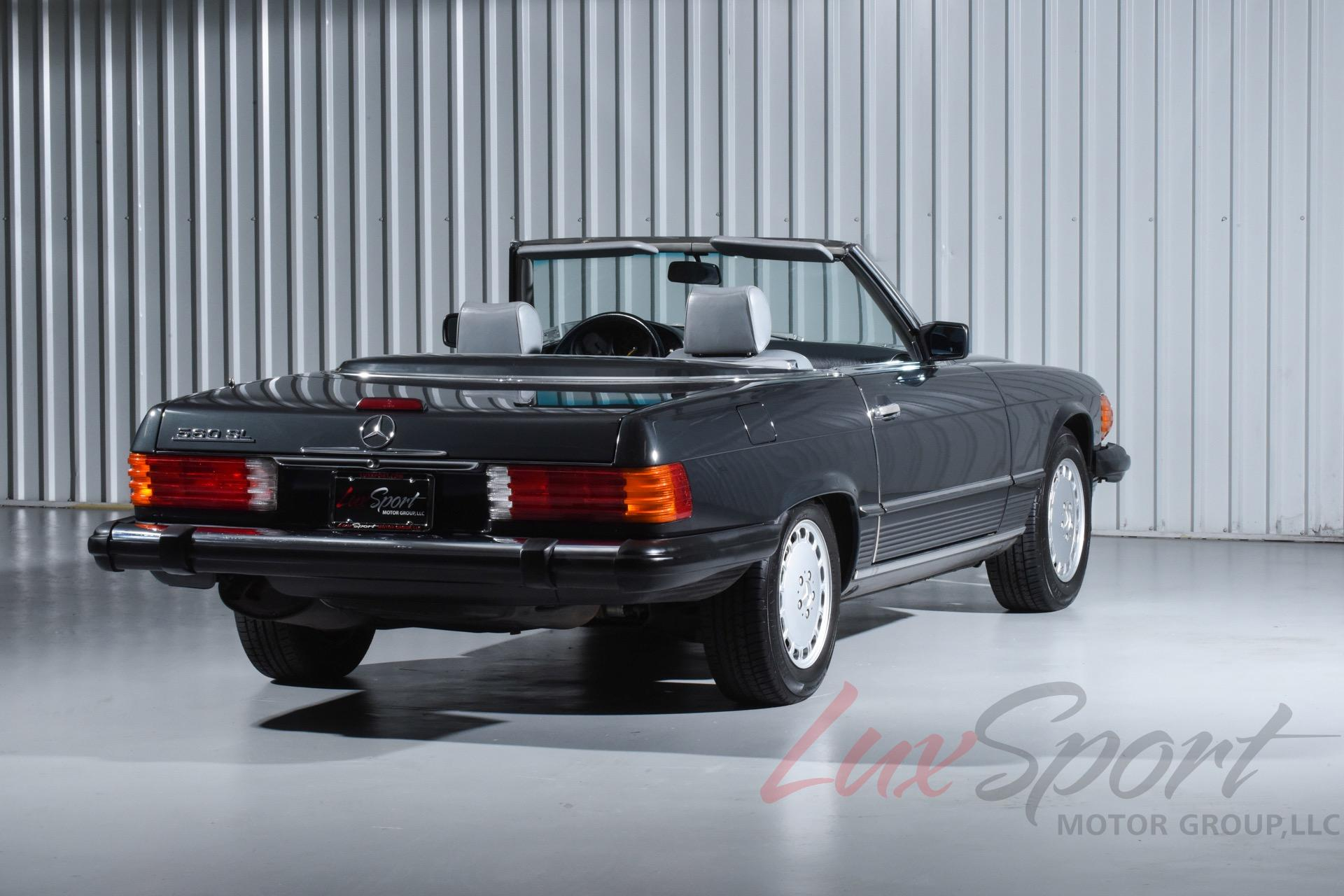 1989 mercedes benz 560sl roadster 560 sl. Black Bedroom Furniture Sets. Home Design Ideas