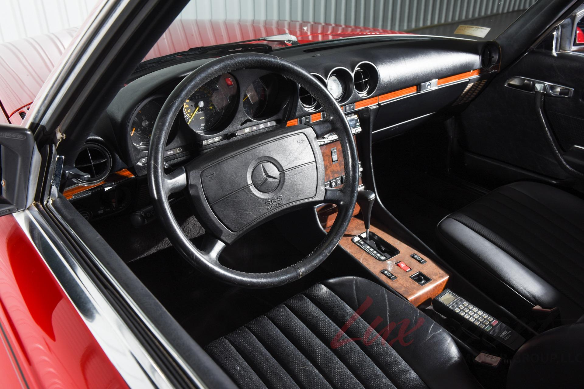 Used 1989 Mercedes-Benz 560SL Roadster 560 SL   New Hyde Park, NY