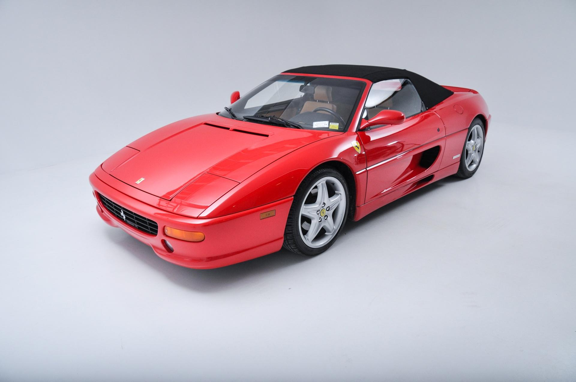 1996 ferrari f355 spider stock 1997109 for sale near new. Black Bedroom Furniture Sets. Home Design Ideas
