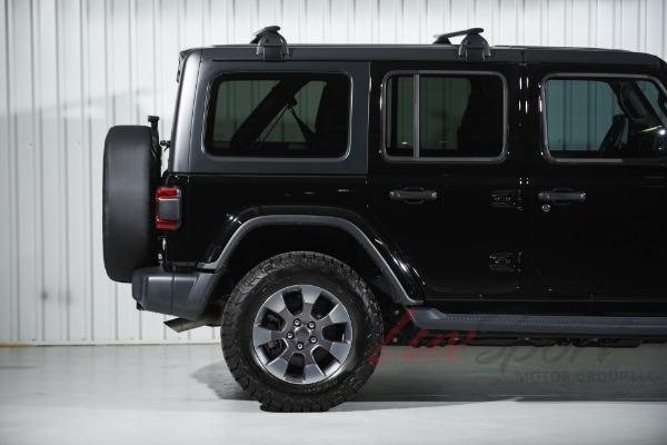 Used 2018 Jeep Wrangler Unlimited Sahara  | New Hyde Park, NY