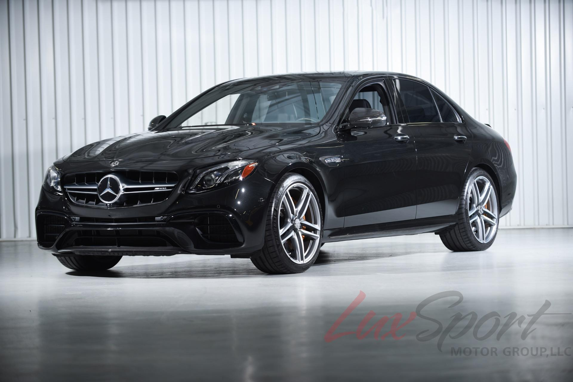 Used 2018 Mercedes-Benz E63S AMG Sedan  | New Hyde Park, NY