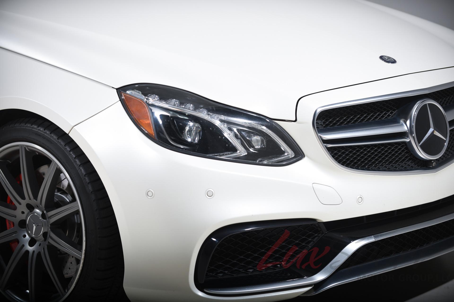 Used 2015 Mercedes-Benz E63S AMG Sedan  | Syosset, NY